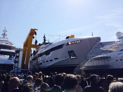 Image for article Rossinavi launches 48.3m 'Polaris'