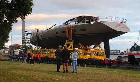 Image for article Fitzroy Yachts launch 37.5m 'Escapade'