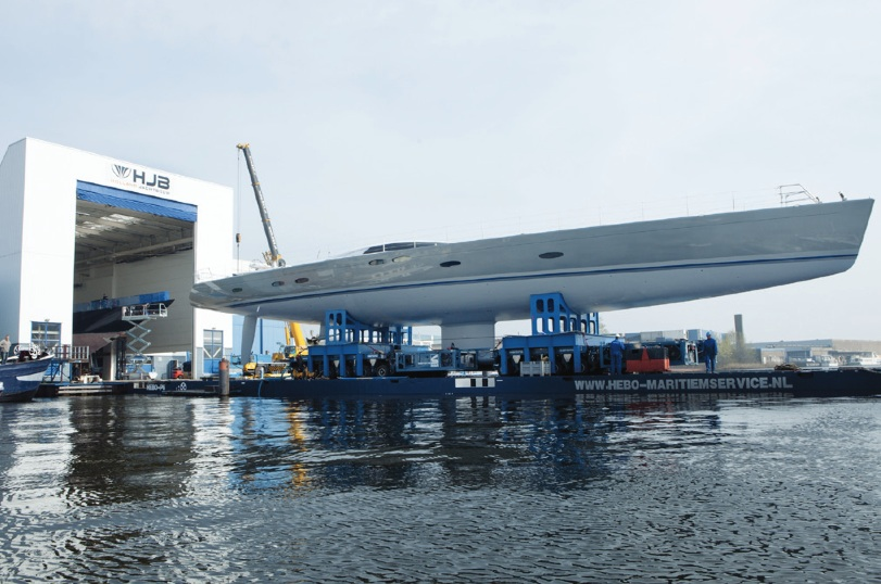 Image for article Holland Jachtbouw launches 45m 'Heureka' (ex YIII)