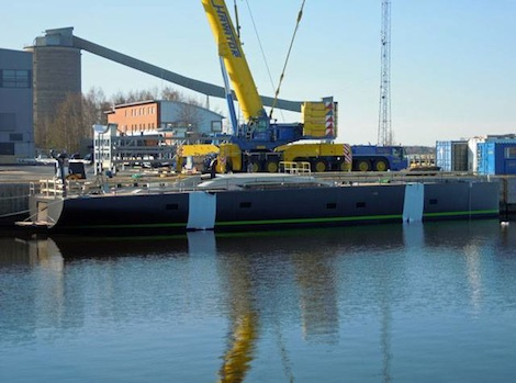 Image for article Baltic Yachts launch 33m 'WinWin'