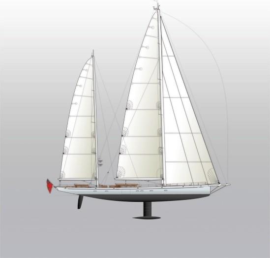 Image for article Royal Huisman launch 46.4m Hoek Project 392