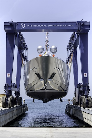 Image for article ISA Yachts launch 43.63m 'Silver Wind'