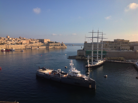 Image for article Big dogs in Malta