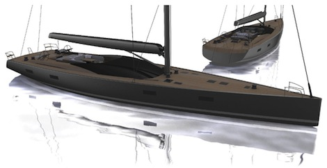Image for article Vitters sign 33m Malcolm McKeon sloop
