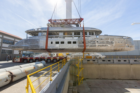 Image for article First Dynamiq superyacht on schedule for delivery