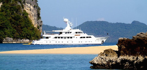 Image for article 42m explorer yacht 'Maverick' for sale