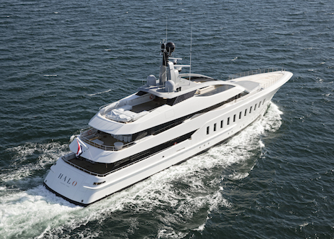 Image for article Feadship delivers 57m 'Halo'