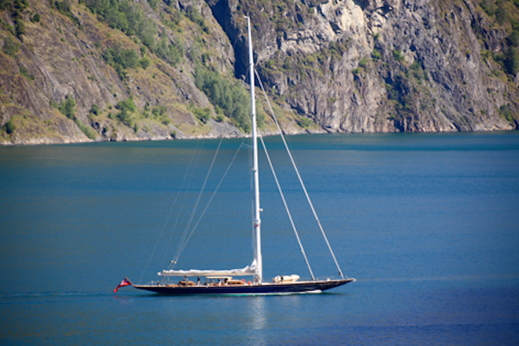 Image for article Holland Jachtbouw delivers 42m sailing yacht Topaz
